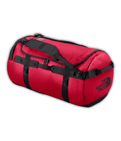 The North Face Base Camp Duffel L (Schwarz, Rot)