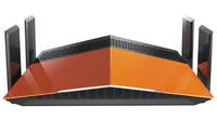 D-Link AC1900 EXO Dual-band (2.4 GHz / 5 GHz) Gigabit Ethernet Schwarz (Schwarz, Orange)