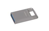 Kingston Technology DataTraveler Micro 3.1 128GB 128GB USB 3.0 (3.1 Gen 1) USB-Anschluss Typ A Metallisch USB-Stick (Metallisch)