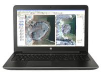 HP ZBook 15 G3 2.6GHz I7-6700HQ 15.6Zoll 1920 x 1080Pixel Schwarz Notebook (Schwarz)
