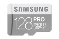Samsung 128GB PRO 128GB MicroSDXC UHS-I Class 10 Speicherkarte (Grau)