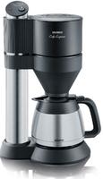 Severin KA 5743 Kaffeemaschine (Schwarz, Edelstahl)