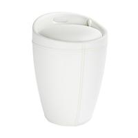 WENKO 21773100 Wäschekorb (Weiß)