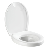 WENKO 21905100 Toilettensitz (Weiß)