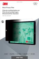 3M Blickschutzfilter für Apple iPad Pro - Querformat (Schwarz, Durchscheinend)