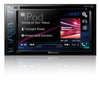 Pioneer AVH-280BT car media receiver (Schwarz)
