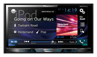 Pioneer AVH-X5800DAB car media receiver (Schwarz)