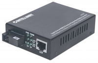 Intellinet 545068 1000Mbit/s Einzelmodus Schwarz Netzwerk Medienkonverter (Schwarz)