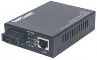 Intellinet 507349 1000Mbit/s 1310nm Einzelmodus Schwarz Netzwerk Medienkonverter (Schwarz)