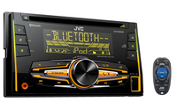 JVC KW-R920BT 200W Bluetooth Schwarz Auto Media-Receiver (Schwarz)