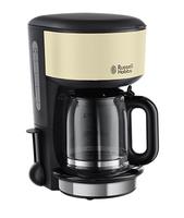 Russell Hobbs 20135-56 Kaffeemaschine (Schwarz, Cremefarben)