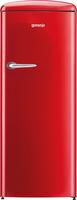 Gorenje ORB153RD Kühlschrank mit Gefrierfach (Rot)