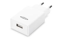 Ednet 31810 Ladegeräte für Mobilgerät (Weiß)