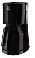 Melitta 1017-06 Drip coffee maker 8Tassen Schwarz Kaffeemaschine (Schwarz)
