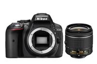 Nikon D5300 + AF-P 18-55mm VR (Schwarz)