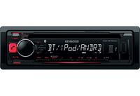 Kenwood Electronics KDC-BT500U car media receiver (Schwarz)