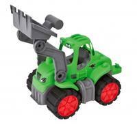 BIG 800056832 Spielzeugfahrzeug (Schwarz, Grün, Grau, Rot)