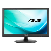 ASUS VT168N point touch monitor 15.6Zoll 1366 x 768Pixel Multi-touch Schwarz Touchscreen-Monitor (Schwarz)