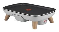 Tefal CB658B Grill Tisch Elektro 2400W Cremefarben Barbecue & Grill (Cremefarben)