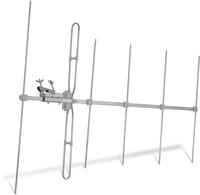 TechniSat TechniYagi 6 VHF VHF 7dB 75Ohm Funkantenne (Silber)