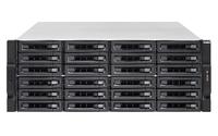 QNAP TS-EC2480U R2 NAS Rack (4U) Eingebauter Ethernet-Anschluss Schwarz, Grau (Schwarz, Grau)