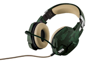 Trust GXT 322C Binaural Kopfband Grün Headset (Grün)