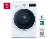 LG F12U2HDM0NH Waschtrockner (Schwarz, Weiß)