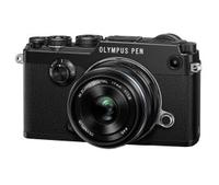 "Olympus PEN F + M.ZUIKO DIGITAL 17mm 1:1.8 20.3MP 4/3"" Live MOS 5184 x 3888Pixel (Schwarz)"
