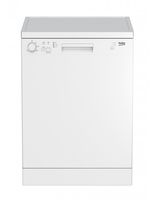 Beko DFN05L10W Freistehend 12Stellen Weiß Spülmaschine (Weiß)