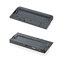 Fujitsu S26391-F1557-L110 Schwarz Notebook-Dockingstation & Portreplikator (Schwarz)