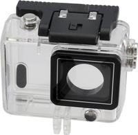 Rollei 21633 Unterwasserkameragehaeuse (Schwarz, Transparent)