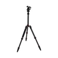 Rollei Compact Traveler No. 1 Carbon Digitale Film/Kameras Schwarz Stativ (Schwarz)