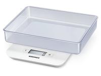 Soehnle 65122 8 Tisch Rechteck Elektronische Küchenwaage Weiß (Weiß)