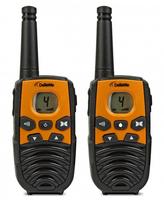 DeTeWe Outdoor 4000 8channels 446MHz Schwarz Funksprechgerät (Schwarz, Orange)