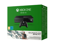 Microsoft Xbox One 500GB Quantum Break bundle (Schwarz)