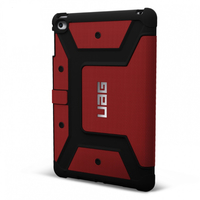 Urban Armor Gear UAG-IPDM4-RED-VP Folio Rot Tablet-Schutzhülle (Rot)