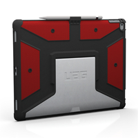 Urban Armor Gear UAG-IPDPRO-RED-VP Abdeckung Rot Tablet-Schutzhülle (Rot)
