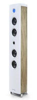 Thomson DS301 Tower 180W Weiß, Holz Home-Stereoanlage (Weiß, Holz)
