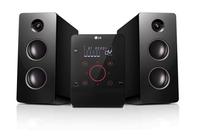 LG CM2760 Micro-Set 160W Schwarz Home-Stereoanlage (Schwarz)
