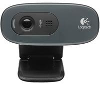 Logitech HD WEBCAM C270 3MP 1280 x 720Pixel USB 2.0 Schwarz (Schwarz)