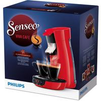 Senseo Viva Café Kaffeepadmaschine (Rot)