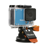 Rollei Saugnapf M1 Mini Camera mount (Schwarz, Orange)
