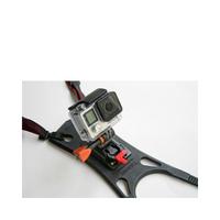 Rollei Helmhalterung Motorrad Pro Camera mount (Schwarz)