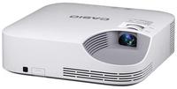 Casio XJ-F100W Desktop-Projektor 3500ANSI Lumen DLP WXGA (1280x800) Weiß Beamer (Weiß)