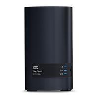 Western Digital My Cloud EX2 Ultra NAS Eingebauter Ethernet-Anschluss Schwarz (Schwarz)