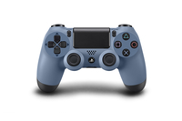 Sony DualShock 4, Limited Edition Uncharted 4 Gamepad PlayStation 4 Blau, Grau (Blau, Grau)