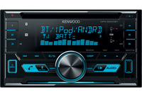 Kenwood Electronics DPX-5000BT Auto Media-Receiver (Schwarz)