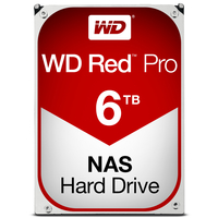 Western Digital Red Pro 6000GB Serial ATA III Interne Festplatte