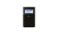 Sony XDR-V1BTD Tragbar Schwarz Radio (Schwarz)