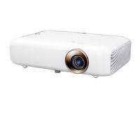LG PH550G 550ANSI Lumen DLP 720p (1280x720) Desktop Weiß Beamer (Weiß)